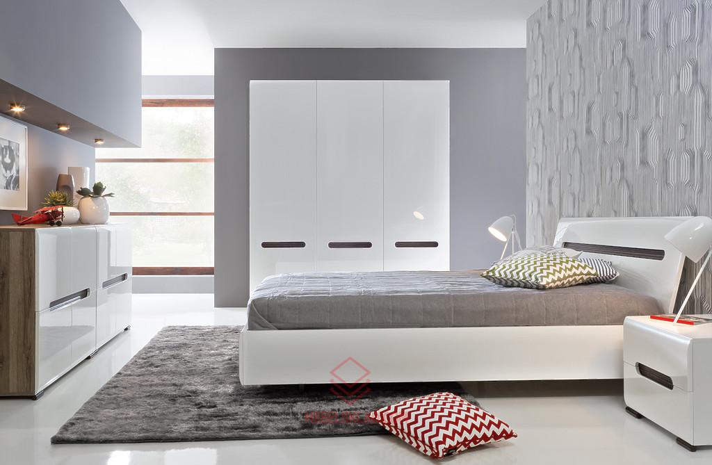 AZTECA Кровать LOZ180x200 белый за 23491 ₽